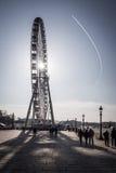 Ferris roda dentro Paris, France Imagem de Stock
