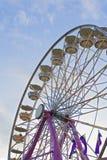 Ferris-roue à la foire Photographie stock libre de droits