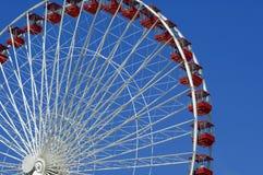 Ferris rueda adentro Chicago Fotografía de archivo