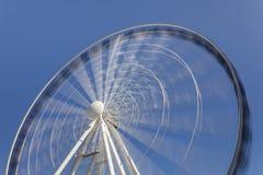 Ferris rueda adentro el movimiento Foto de archivo