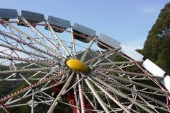 Ferris rueda adentro el parque del océano Imagen de archivo libre de regalías