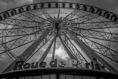 Ferris rueda adentro París Imagen de archivo libre de regalías