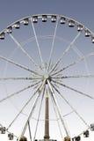 Ferris rueda adentro París Foto de archivo