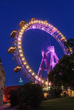 Ferris rueda adentro Viena   fotos de archivo