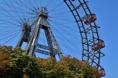 Ferris rueda adentro Viena Foto de archivo