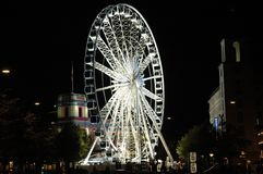 Ferris-rueda en Copenhague Foto de archivo