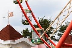 Ferris spinge dentro la sosta Immagini Stock