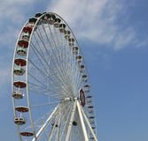 Ferris spinge dentro Prater Vienna Fotografia Stock Libera da Diritti