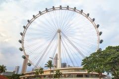 Ferris spinge dentro Singapore Immagini Stock Libere da Diritti