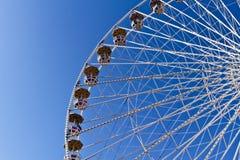Ferris spinge dentro una sosta a Vienna Fotografia Stock Libera da Diritti