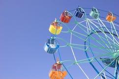Ferris in spring park #1 Stock Image