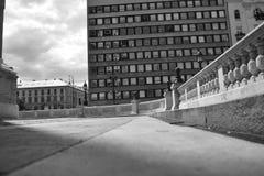 Ferris toczy wewnątrz Budapest obrazy stock