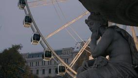 Ferris toczy wewnątrz Budapest szczegółu zbiory