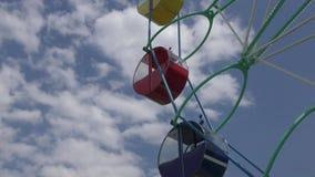 Ferris toczy wewnątrz lato parka zbiory