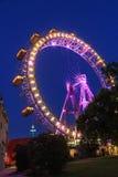 Ferris toczy wewnątrz Wiedeń zdjęcia stock