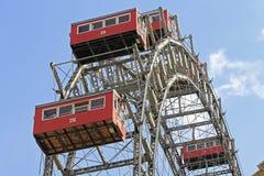 Ferris toczy wewnątrz Wiedeń, Austria Obraz Royalty Free