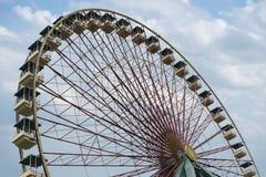 Ferris toczy wewnątrz atraction parka Zdjęcia Stock