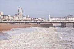 Ferris toczy wewnątrz Brighton Fotografia Stock