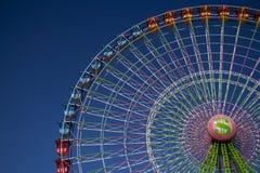 Ferris toczy wewnątrz jarmark zdjęcie royalty free