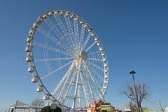 Ferris toczy wewnątrz Rimini Fotografia Stock