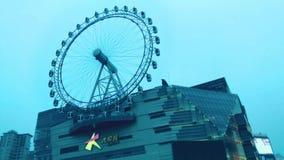 Ferris-wheelï ¼ ŒSHANGHAI stock video