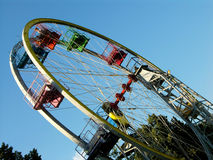 Ferris Wheel. Colourful ferris wheel Royalty Free Stock Images