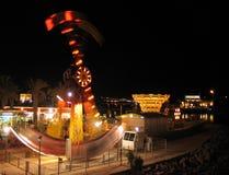 Ferris wheel. Eilat at night Royalty Free Stock Images