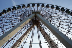 Ferris wheel. Royalty Free Stock Photography