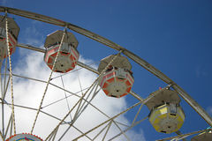 Ferris Wheel. And blue sky at the fair Stock Image