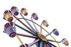 Ferris wheel. A ferris wheel in an amusement park Stock Photos