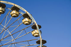 Ferris Wheel. At an amusement park Royalty Free Stock Images