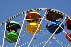 Ferris wheel. Royalty Free Stock Photos