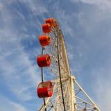Ferris wheel. The ferris wheel in the sky Stock Images