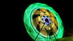 The Ferris wheel stock image
