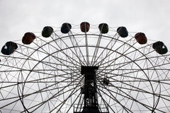 Ferris wheel. Large ferris wheel with metal framework Stock Image