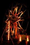 Ferris wheel. A picture of a ferris wheel taken at a local fair Stock Photo