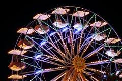 Ferris wheel. Night shot of Ferris wheel in amusement park Stock Photography