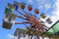 Ferris wheel. A high dynamic range shot of the ferris wheel Stock Photo