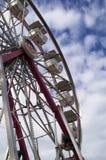 Ferris Wheel. A ferris wheel in Markham Fair royalty free stock photo