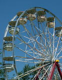 Ferris wheel. A ferris wheel at a summertime fair stock photos