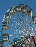 Ferris wheel. A ferris wheel at a summertime fair Stock Photos