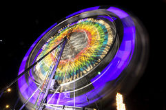 Ferris wheel. A spinning ferris wheel at a carnival in Anaheim,CA Royalty Free Stock Photo
