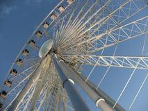 Ferris wheel 2. Ferris wheel in Niagara Falls during the day Stock Photo