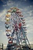 Ferris Wheel. In Tibidabo Park Royalty Free Stock Photos