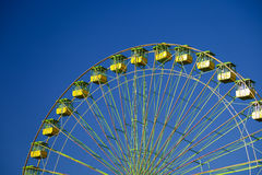 Ferris wheel. On the fair of El Puerto de Santa Maria Stock Photos