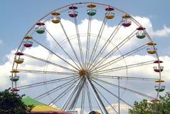 Ferris Wheel. Shot of a ferris wheel. Festival in Sandford, Florida stock photography