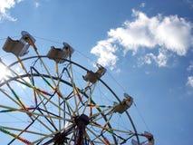 Ferris wheel. At a county fair royalty free stock photos