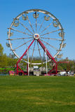 Ferris wheel. At a carnival in the springtime stock photos