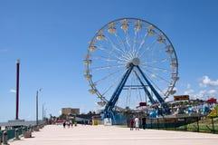 Ferris Wheel. DAYTONA BEACH, FLORIDA, UNITED STATES - JUNE 18, 2012: BOARDWALK AND FERRISWHEEL Stock Photography