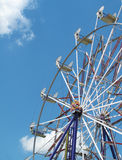 Ferris Wheel. Ready to ride ferris wheel on a beautiful summer day Stock Images
